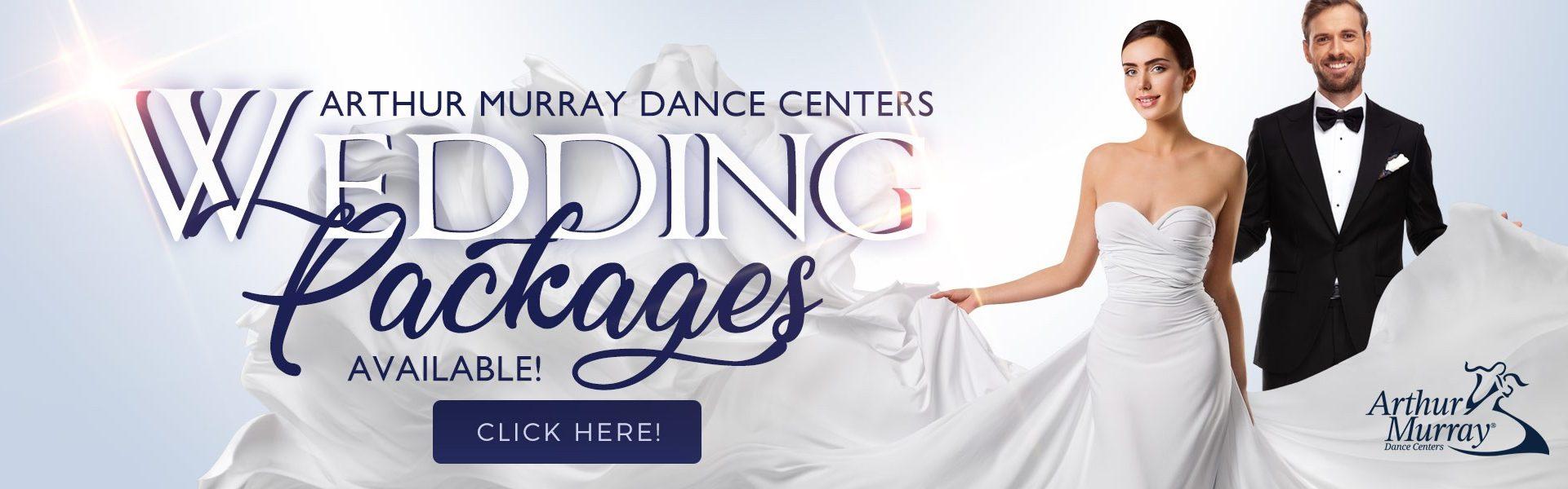 Arthur Murray Wedding Dance Packages Banner